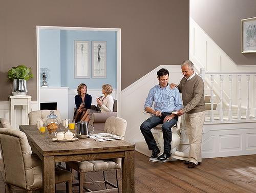 Mobilität im Alter – Lifta Treppenlifte