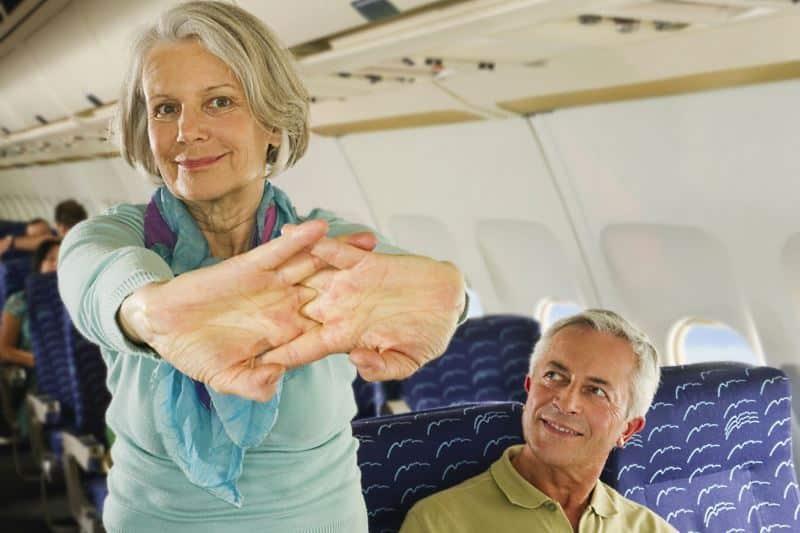 Auf langen Flügen ohne müde Beine gesund unterwegs