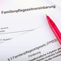 Familienpflegezeit – was hat sich zum 1.1.2015 geändert?
