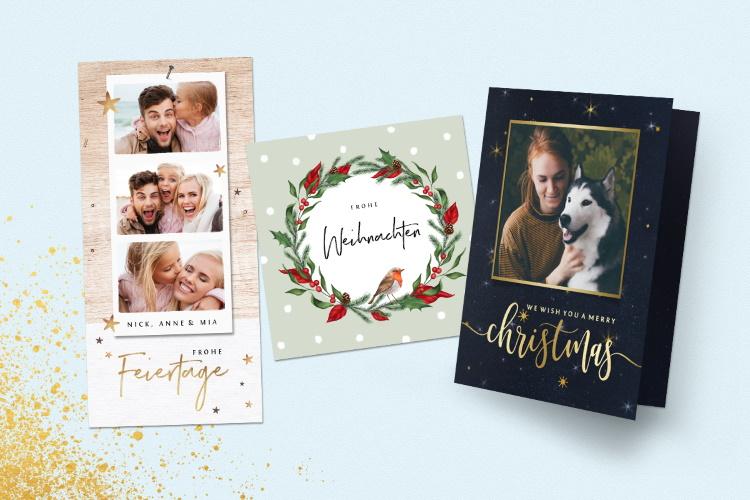 Weitere Weihnachtskarten
