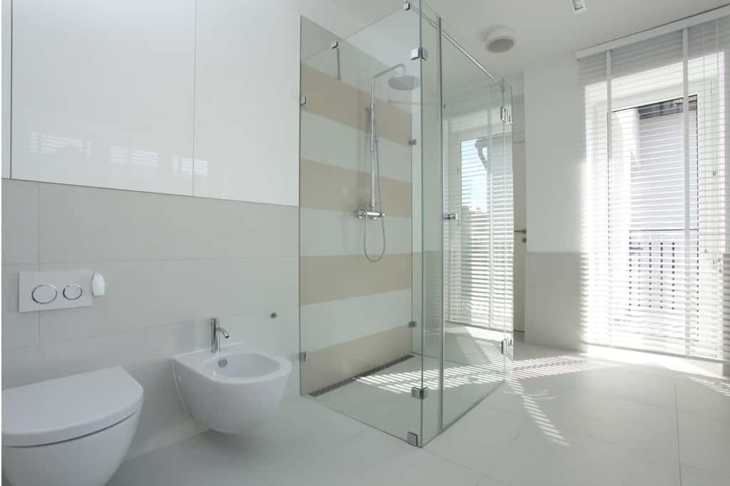 Ein barrierefreies Badezimmer